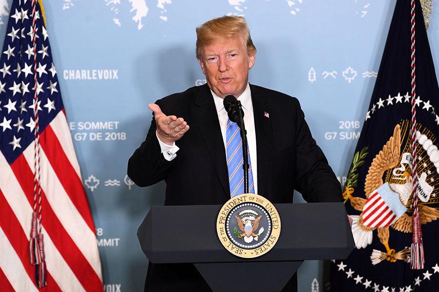 特朗普:貿易失衡每況越下 美國拒當世界存錢罐