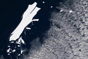 海上漂流18年 史上最大冰山將永遠消失