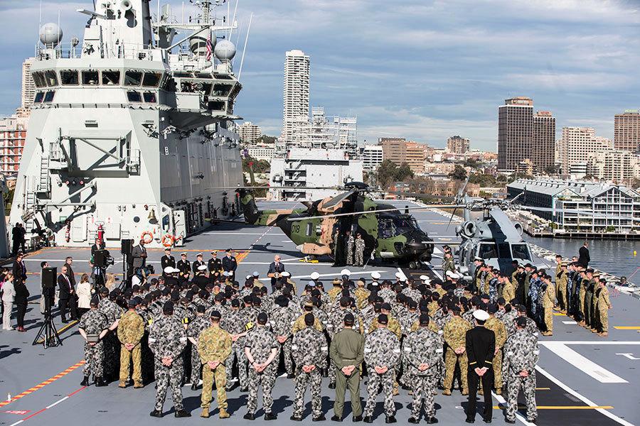 中共間諜船疑偽裝成漁船靠近澳洲軍艦