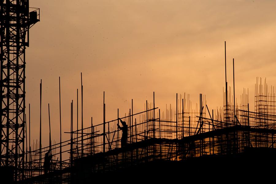 在大陸持續調控下,三四線城市樓市火熱。如,湖北宜昌新房價格連續6個月環比上漲。圖為資料圖片。(大紀元資料室)