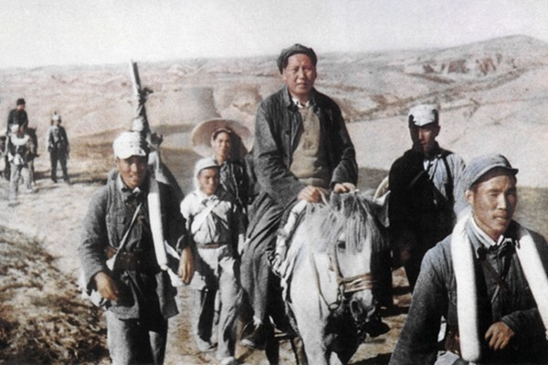 毛澤東1927年曾被國軍抓捕。(AFP/Getty Images)