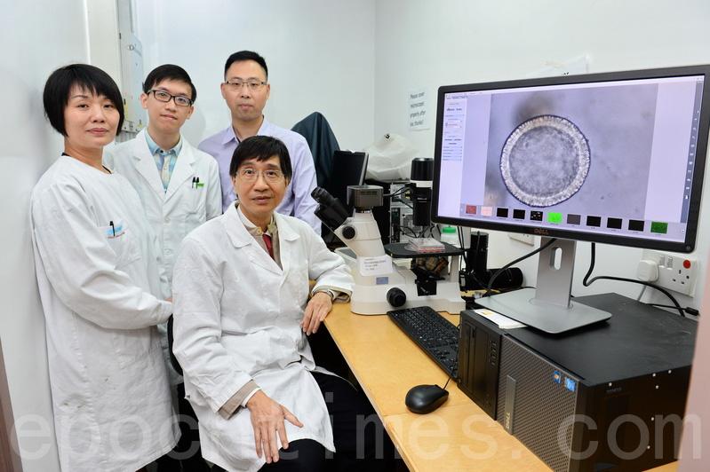 由港大微生物學教授袁國勇率領的團隊,成功研發以成體幹細胞培養成熟的呼吸道類器官,可以用來預測新發病毒的感染性。(宋碧龍/大紀元)