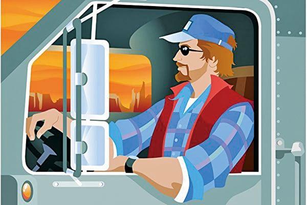 據美國勞工部統計,卡車運輸行業在美國直接和間接提供了900萬個就業機會,其中包括350萬名卡車司機。隨著經濟的逐步反彈,卡車司機就業前景看好。(photos.com)