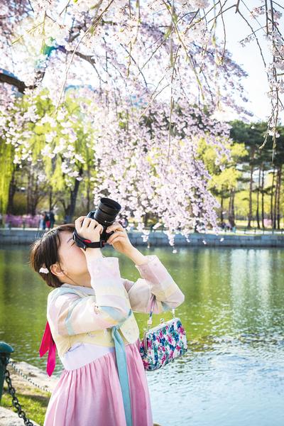 穿韓服遊首爾留下美好瞬間