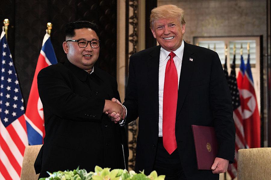 特朗普會後談北韓棄核 對中共邊緣化