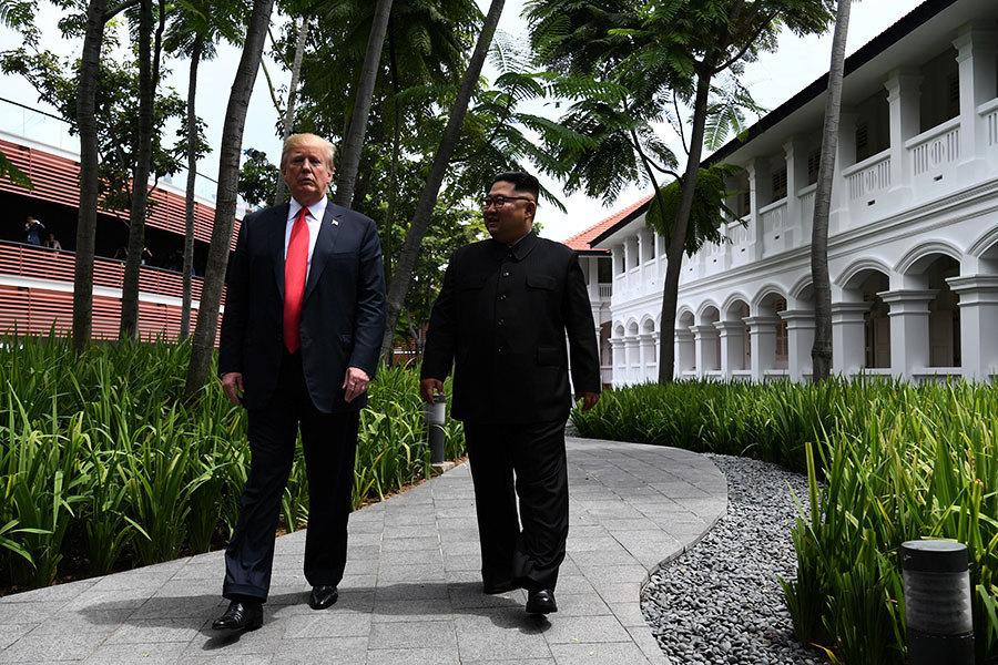 英媒:19年前特朗普就預言美朝談判