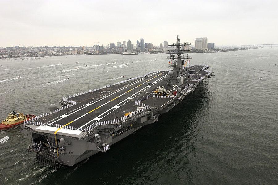 美智庫:台海是公海 美軍艦有穿越的自由