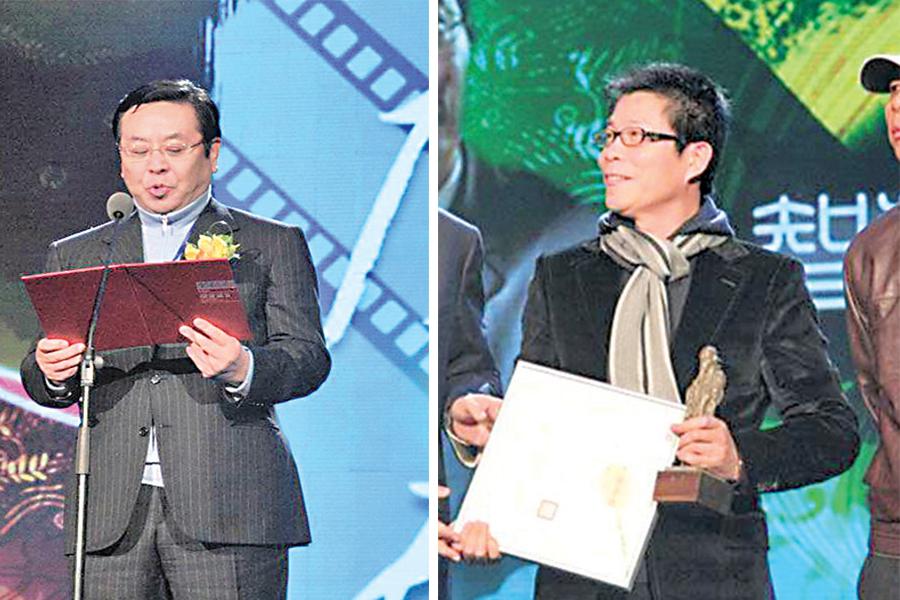 曾慶淮任副主席的中華文化促進會,2010年曾頒獎給王中軍。(網絡圖片)