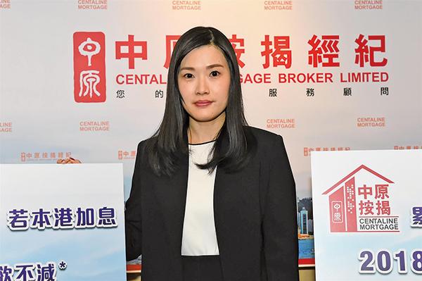 中原按揭經紀董事總經理王美鳳表示,今年香港仍可維持低息環境。(郭威利/大紀元)