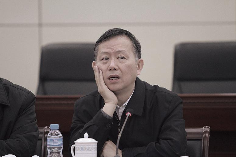 黃明已被免去中共中央政法委委員職務。(大紀元資料室)