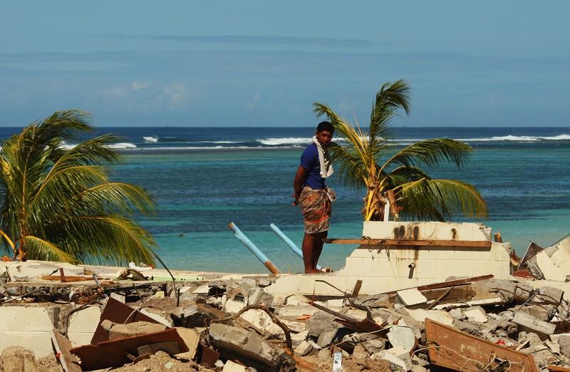 圖為南太平洋薩摩亞(Samoa)群島。(Getty Images)