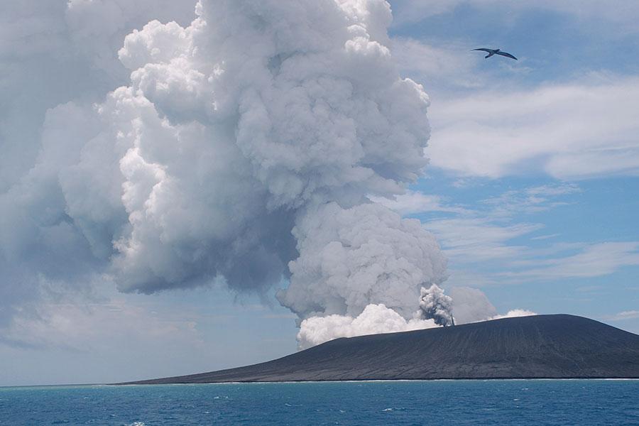 有報告表明北京當局欲在南太平洋島國瓦努阿圖建立永久性軍事基地,中共在太平洋的擴張越來越引起澳洲的擔憂。(Mary Lyn Fonua/AFP/Getty Images)