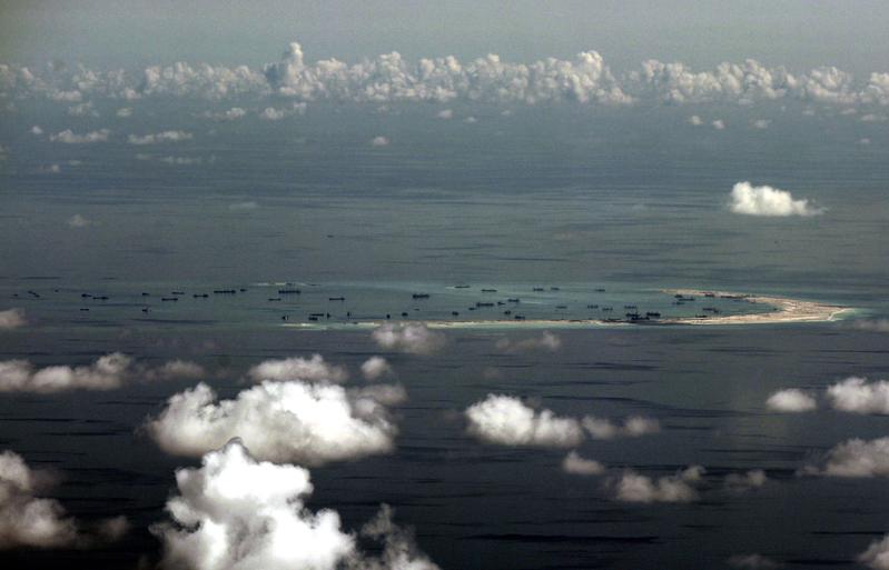 圖為南海。(Getty Images)