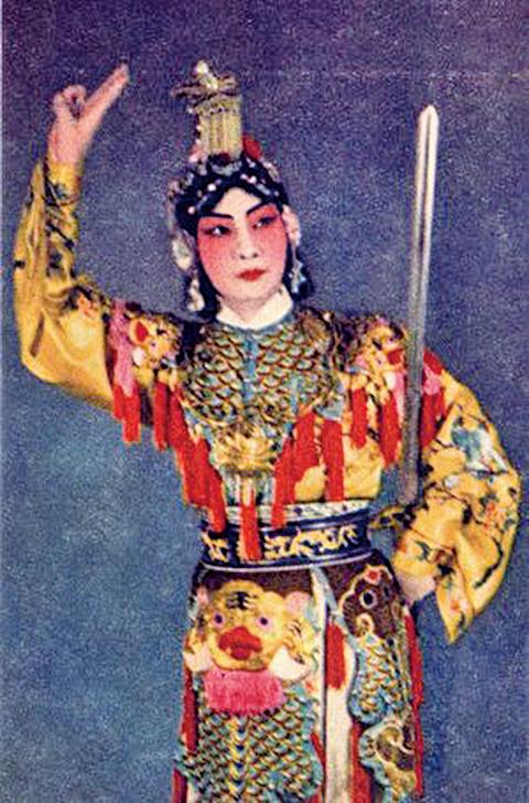 虞美人《霸王別姬》梅蘭芳劇照(公有領域)