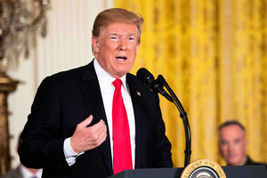 特朗普宣佈對二千億美元中國商品追加關稅