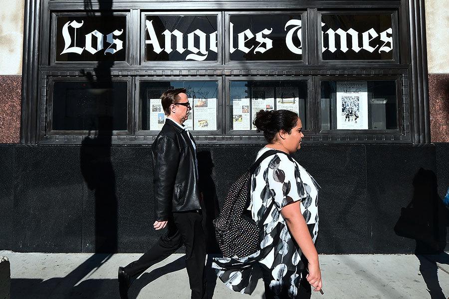 對抗假新聞 華裔富豪黃馨祥收購洛杉磯時報