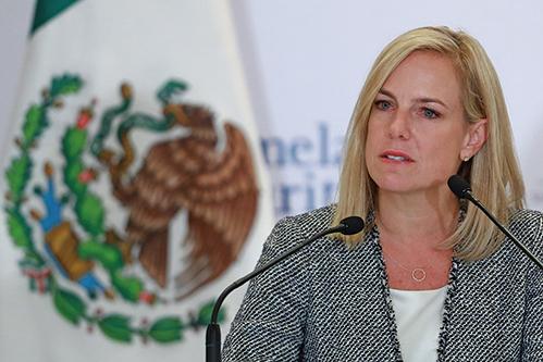 國土安全部部長尼爾森(Kirstjen Nielsen)表示,美國需要改革庇護法。(Getty Images)
