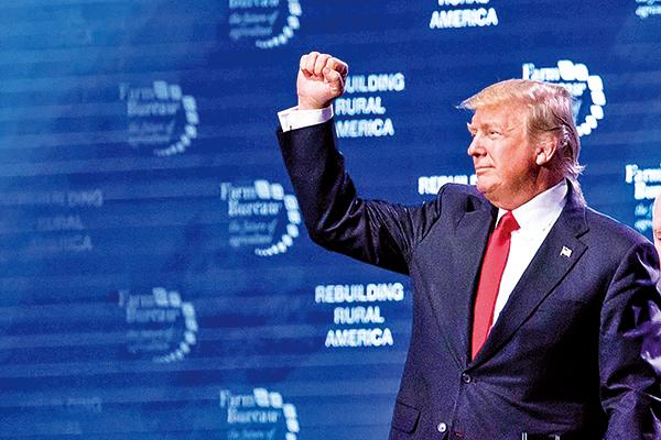 中美貿易爭端中,美國首次將中共的互聯網過濾和攔截系統「防火牆」列入貿易壁壘清單中。特朗普總統說,「從現在開始,我們期待公平且互惠的貿易關 係。」(Samira Bouaou/The Epoch Times)
