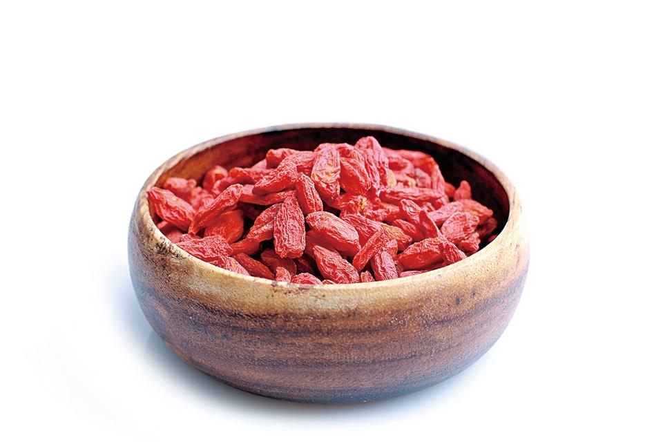 枸杞含有大量的維他命C以及豐富的抗氧化素。