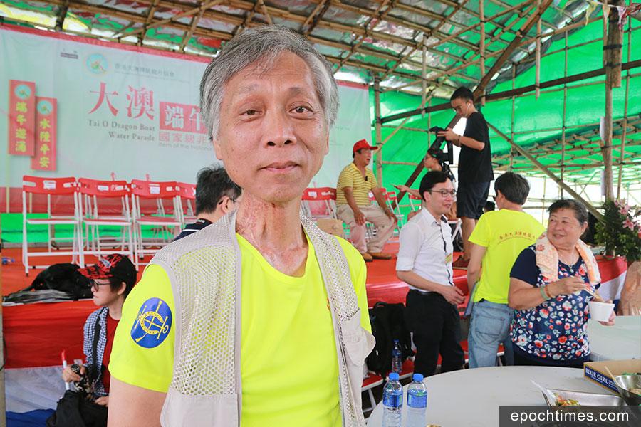 香港科技大學華南研究中心主任廖迪生教授。(陳仲明/大紀元)
