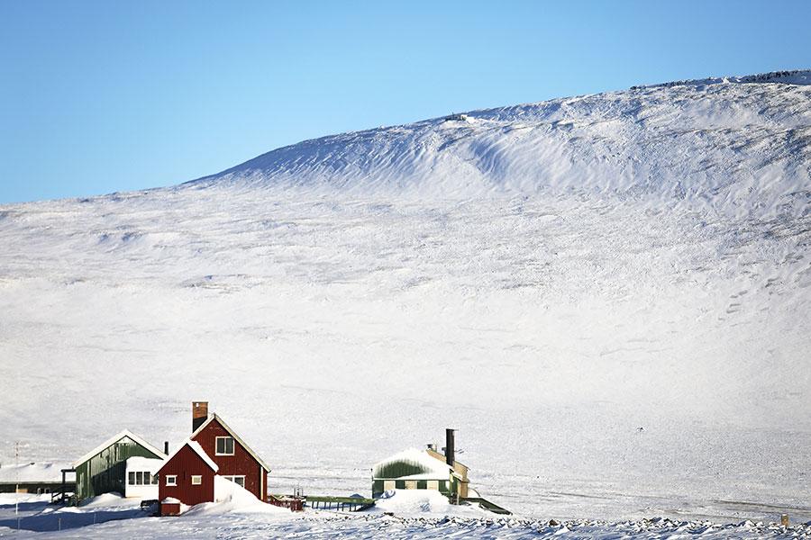 圖為格陵蘭一景。(Mario Tama/Getty Images)