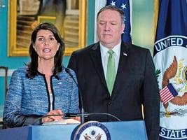 美國宣佈退出聯合國人權理事會