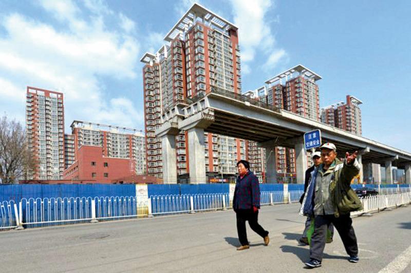 4月份大陸35個城市的樓市庫存整體回升。(Mark RALSTON/AFP)