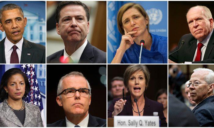 揭秘:奧巴馬政府五手法 監視特朗普競選團隊