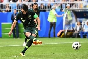 C組第二輪 丹麥1:1戰平澳洲