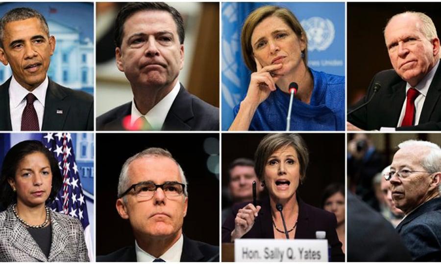 奧巴馬以五手法監視特朗普團隊