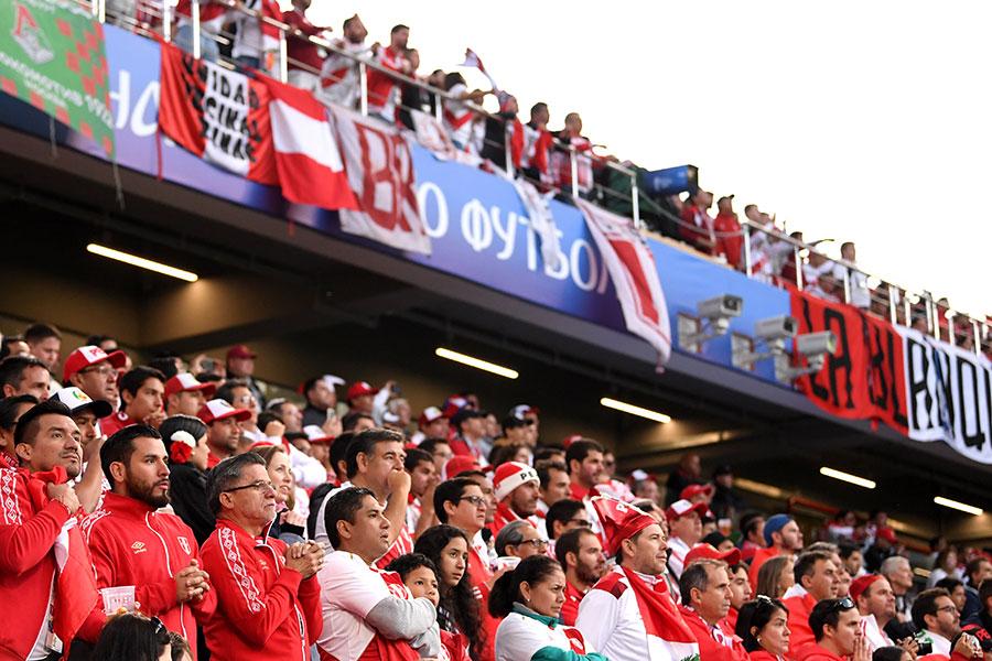 秘魯球迷期待能獲取一場勝利。(Laurence Griffiths/Getty Images)