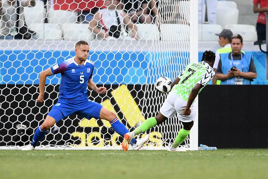 非洲雄鷹尼日利亞兩球輕取冰島