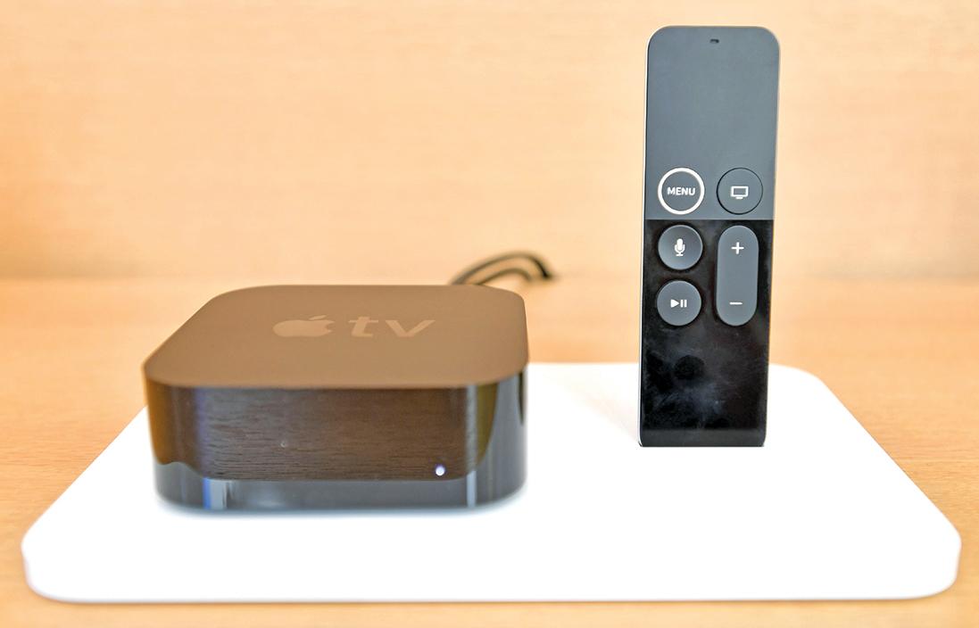 ▲蘋果不滿足於Apple TV的免費流媒體服務,還要製作娛樂內容,挺進內容領域。(JOSH EDELSON/AFP/Getty Images)