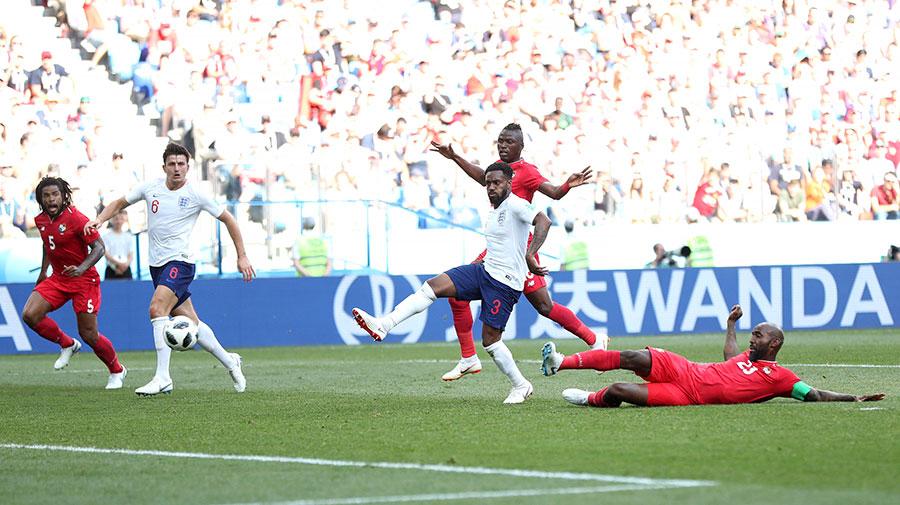 菲臘比巴萊幫助巴拿馬打入球隊歷史上第一粒世界盃進球。(Alex Morton/Getty Images)