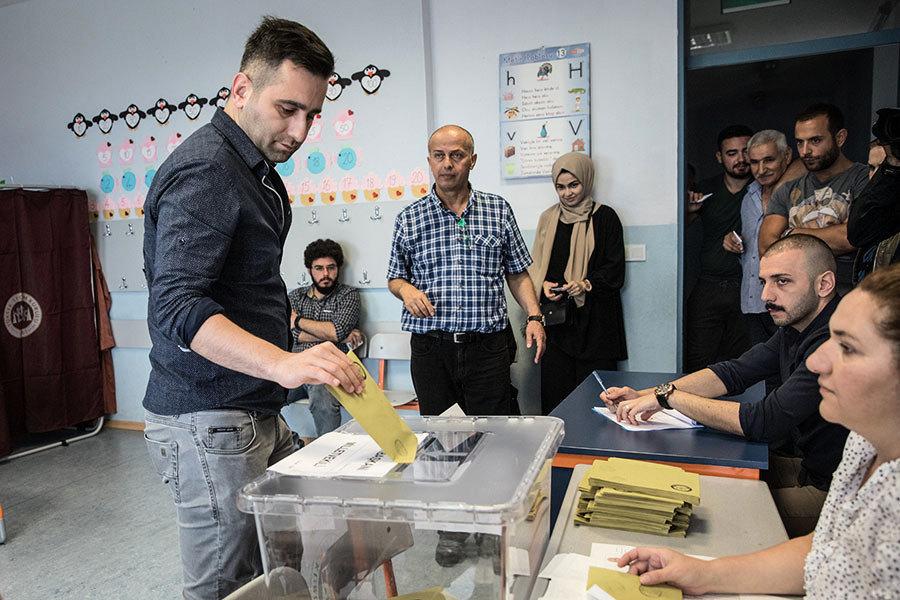 土耳其總統和議會大選 埃爾多安宣佈獲勝