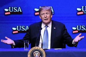 特朗普拉斯維加斯演說 歡迎合法且愛美國的移民