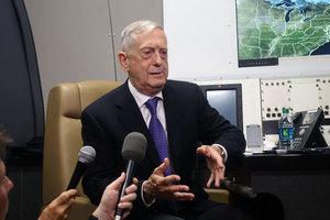 馬蒂斯訪華 或觸及中美軍方四個最敏感問題