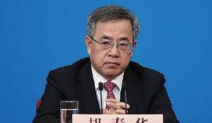 中共副總理胡春華。(Lintao Zhang/Getty Images)