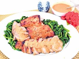 【梁廚美食】白味噌薑燒豬柳梅