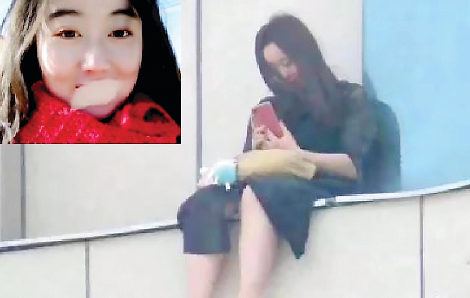 慶陽市一名19歲女生遭到班主任猥褻,在投訴無門後選擇跳樓。(大紀元合成圖)