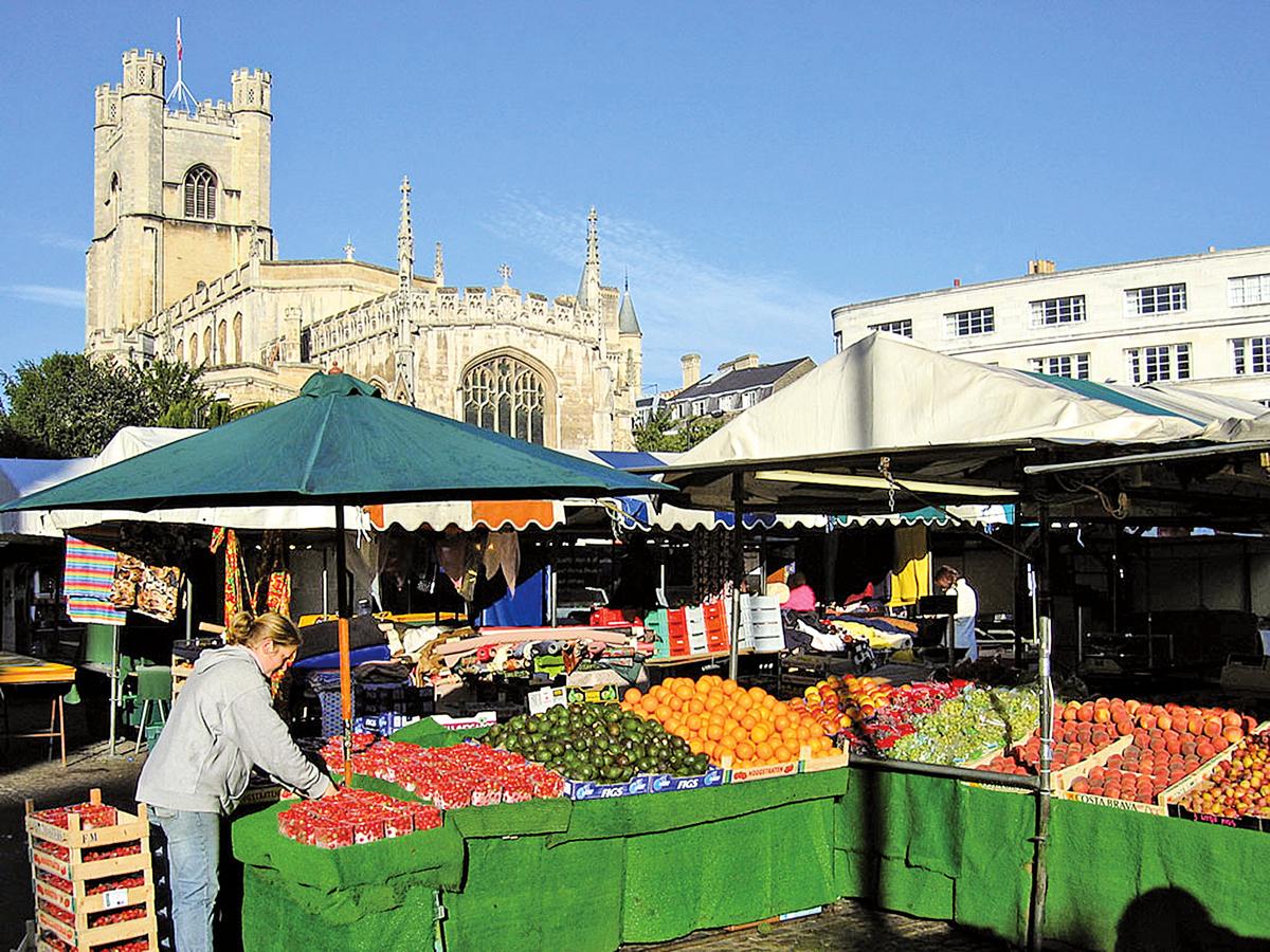 英國劍橋的街市(Andrew Dunn/Wikimedia Commons CC BY-SA 2.0)