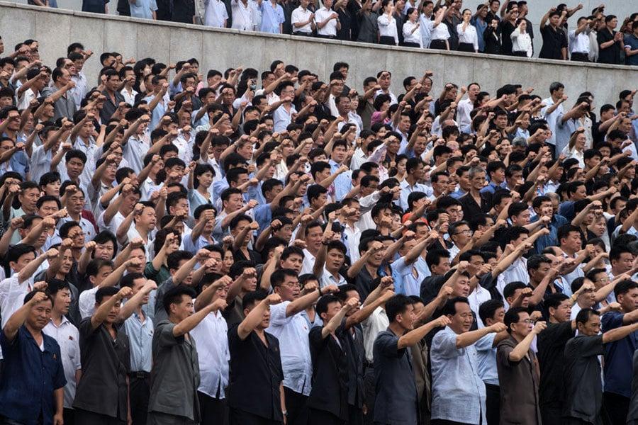 北韓示緩和跡象 年度反美活動消音