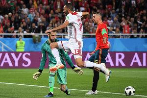 B組第三輪:西班牙2比2摩洛哥 小組第一晉級