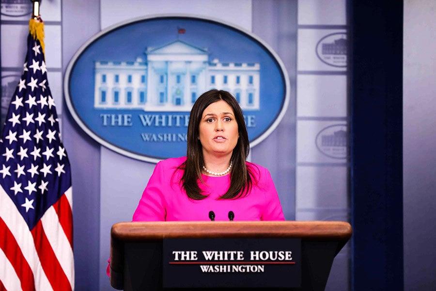 白宮發言人桑德斯講述被餐廳拒絕招待的經歷