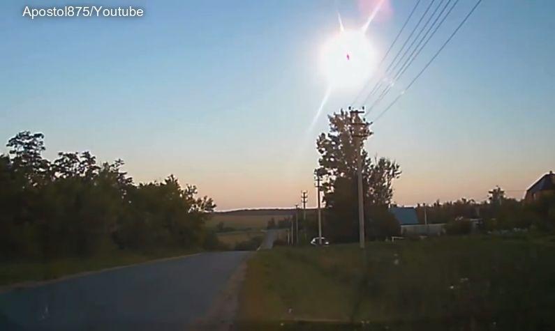 小行星在俄上空爆炸狀似火球 NASA事先不知
