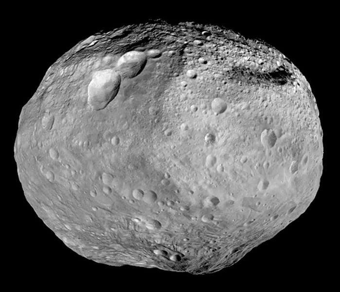 巨大小行星灶神星接近地球,在夜晚以肉眼可見到它。(NASA)