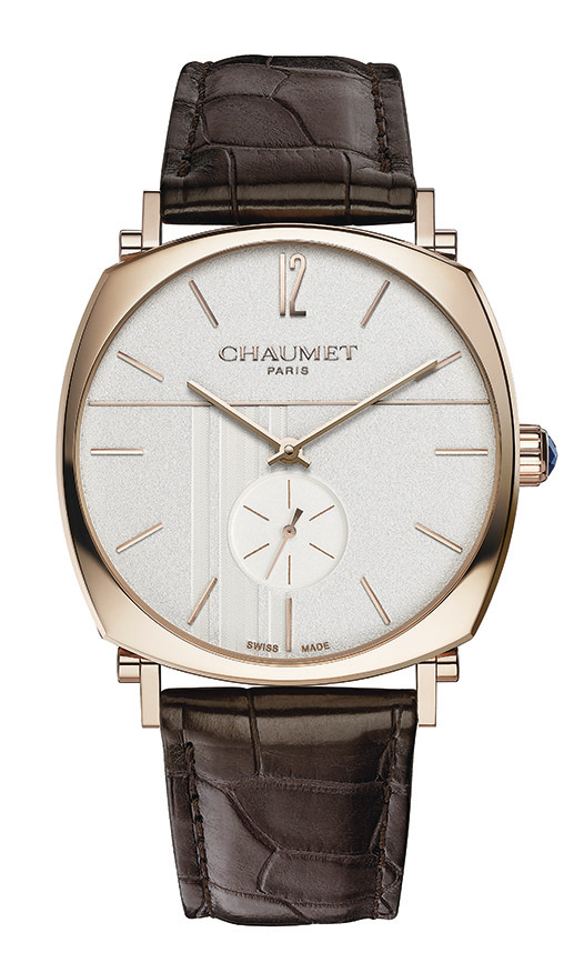 CHAUMET 全新Dandy 系列腕錶。(CHAUMET)