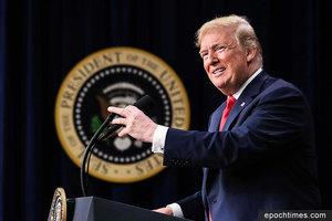 特朗普有信心扭轉不公貿易:各國願與美談判