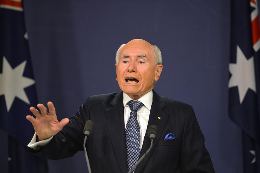 圖為澳洲前總理霍華德(John Howard)資料圖片。(AFP/Getty Images)