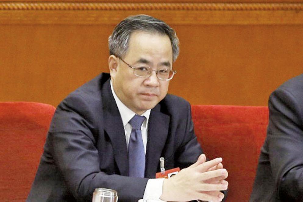27日下午,中共副總理胡春華以中英經濟財金對話中方牽頭人身份,會見了英國財政大臣一行。(Getty Images)